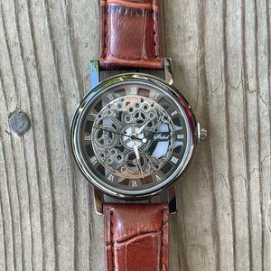 Men's Watch - Engraved Dial